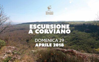 Escursione a Corviano
