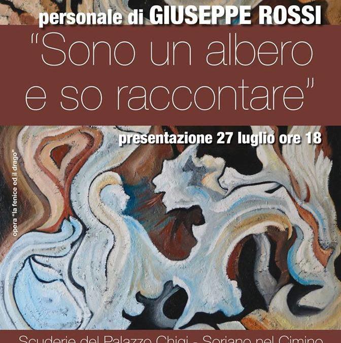 Mostra personale dell'artista Giuseppe Rossi