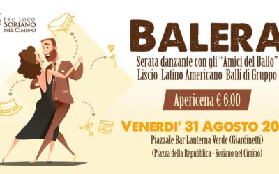 La Balera – Apericena e Serata Danzante
