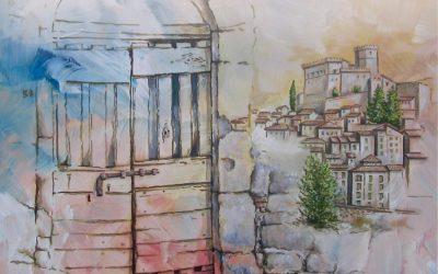 Al mio paese: mostra di pittura di Riccardo Sanna