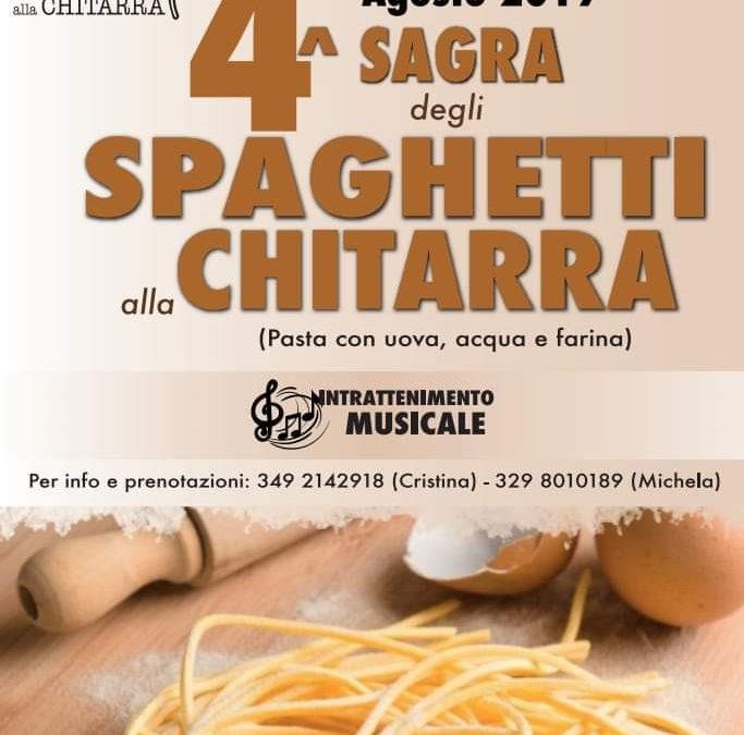 4^ Sagra degli spaghetti alla chitarra